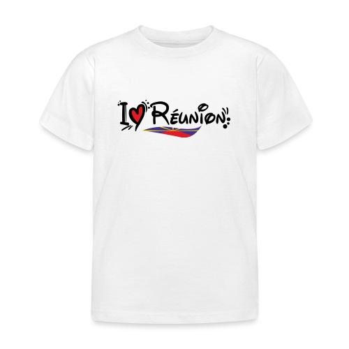 i love Réunion - T-shirt Enfant