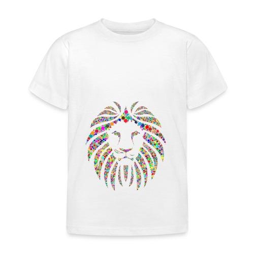 Ausdruck des Löwen - Kinder T-Shirt