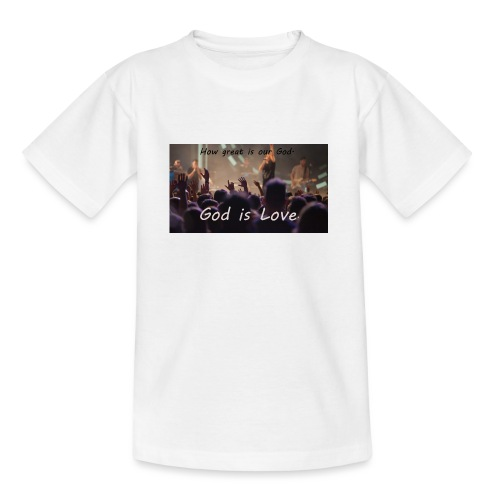 GOD is LOVE. - Kinder T-Shirt