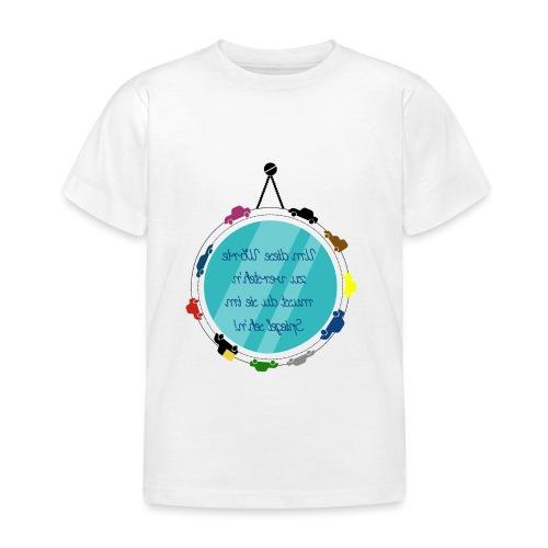 Spiegelschrift - Kinder T-Shirt