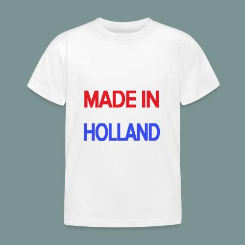 Made in Holland - Kinderen T-shirt