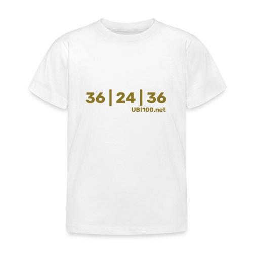 36   24   36 - UBI - Kids' T-Shirt