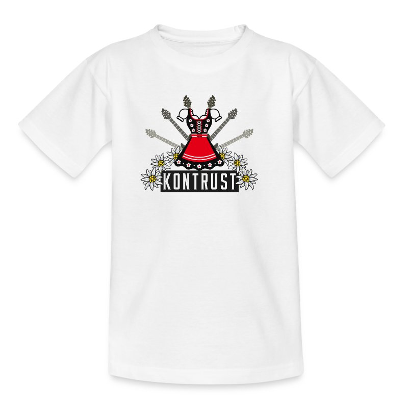 Kontrust Dirndl - Kinder T-Shirt