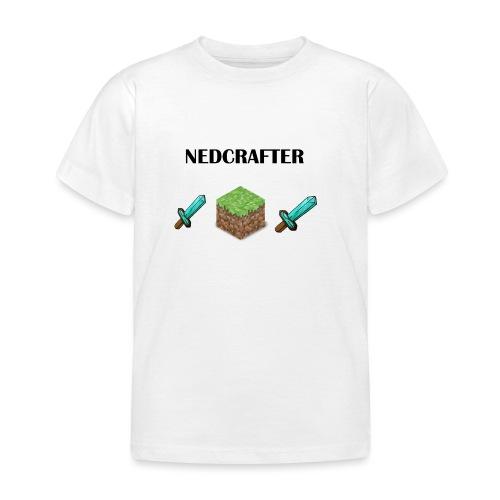 NedCrafter Logo - Kinder T-Shirt
