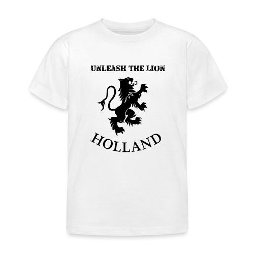HOLLAND Unleash the LION - Kinderen T-shirt