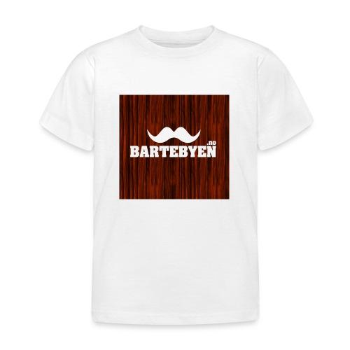 logo bartebyen buttons - T-skjorte for barn