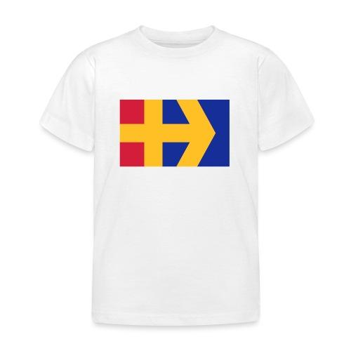 Åbolands flagga - Lasten t-paita