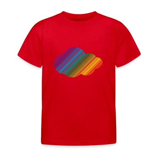 Regnbågsmoln - T-shirt barn