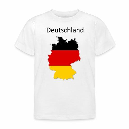 Deutschland Karte - Kinder T-Shirt