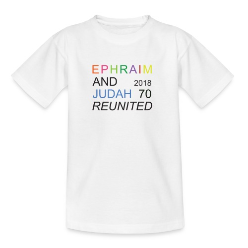 EPHRAIM AND JUDAH Reunited 2018 - 70 - Kinderen T-shirt
