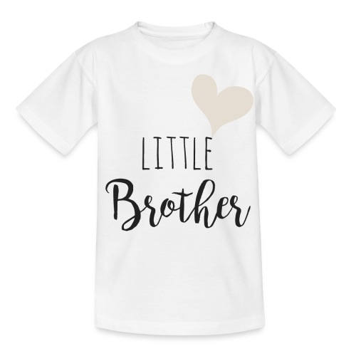 Little brother herz - Kinder T-Shirt