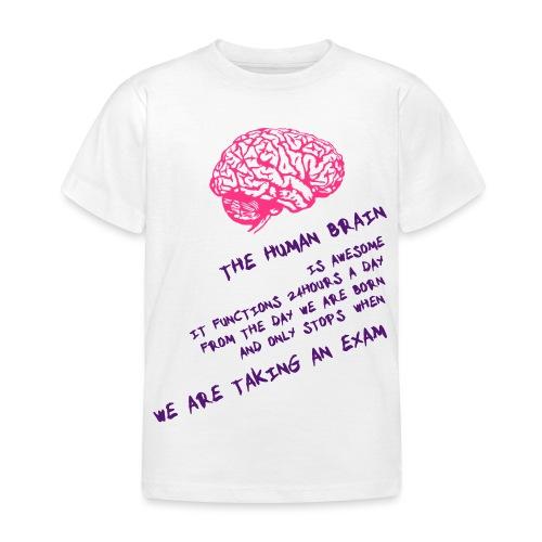 Human Brain - Maglietta per bambini