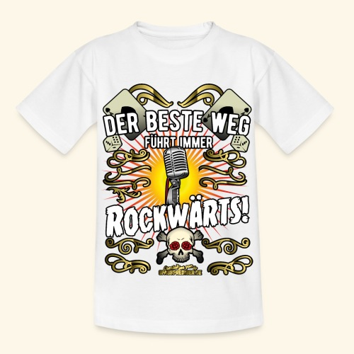Rock Music Shirt ROCKWÄRTS - Kinder T-Shirt