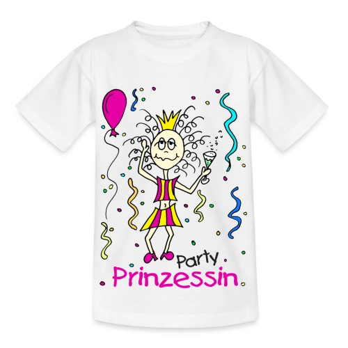 Party Prinzessin - Kinder T-Shirt