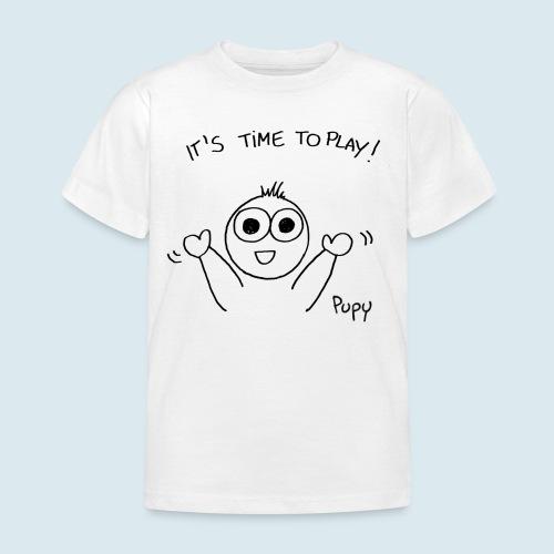 Pupy: time to play! - boy - Maglietta per bambini