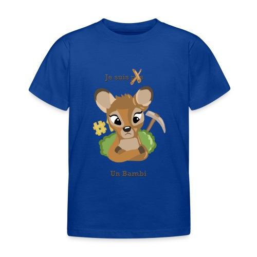 Je suis un bambi - T-shirt Enfant