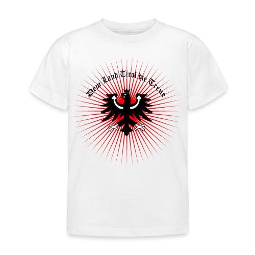 Dem Land Tirol die Treue - Kinder T-Shirt
