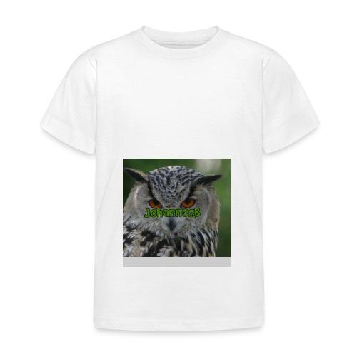 JohannesB lue - T-skjorte for barn
