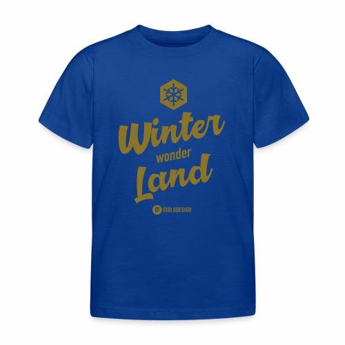 Winter Wonder Land - Lasten t-paita