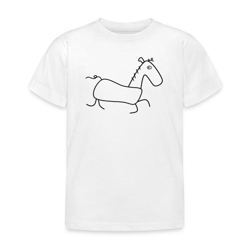 Das Pferd Günther - Kinder T-Shirt