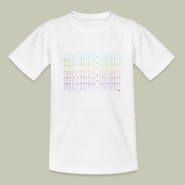 T-Shirt Volley Ball Dégradé