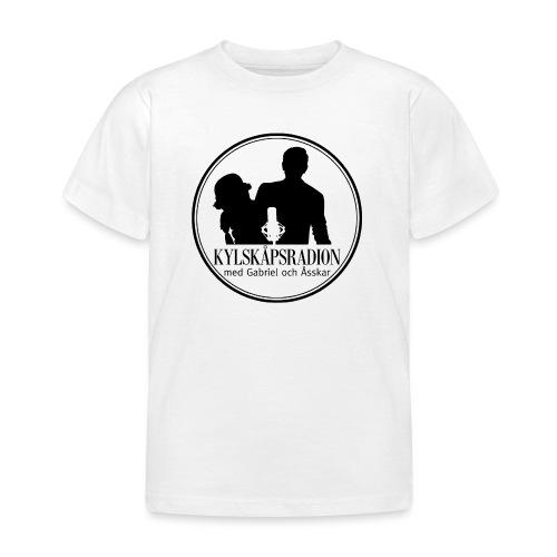 Logga helsvart - T-shirt barn