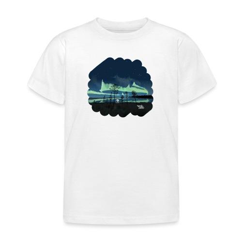 Reflet des aurores boréales - T-shirt Enfant