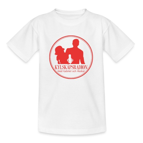 Logga helröd - T-shirt barn