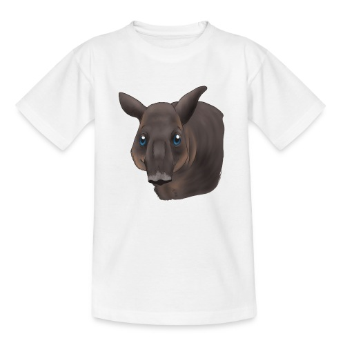 Tapir Portrait - Kinder T-Shirt