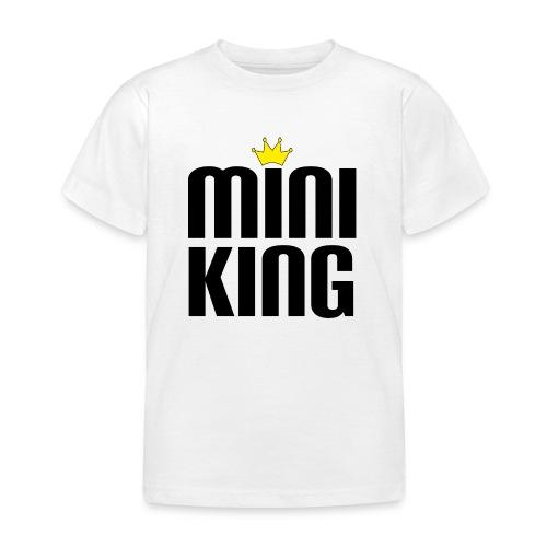 MiniKing Baby Kleinkind Geschenk - Kinder T-Shirt