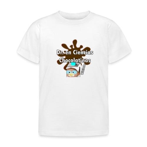 Doc. en Ciencias Chocolatinas - Camiseta niño