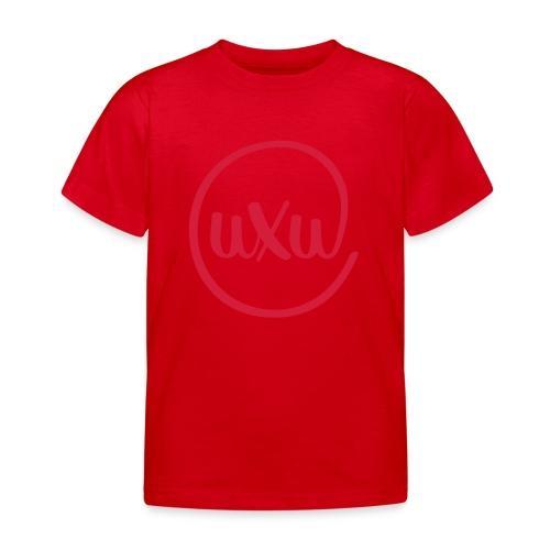 UXU logo round - Kids' T-Shirt