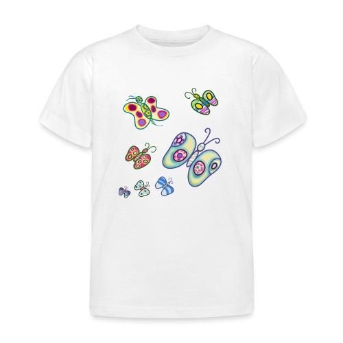 Allegria di farfalle - Maglietta per bambini