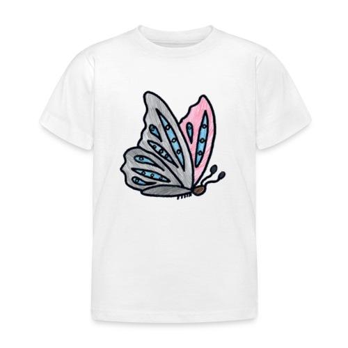 Fjäril - T-shirt barn