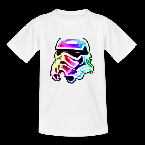 Rainbow Stormtrooper - Kids' T-Shirt