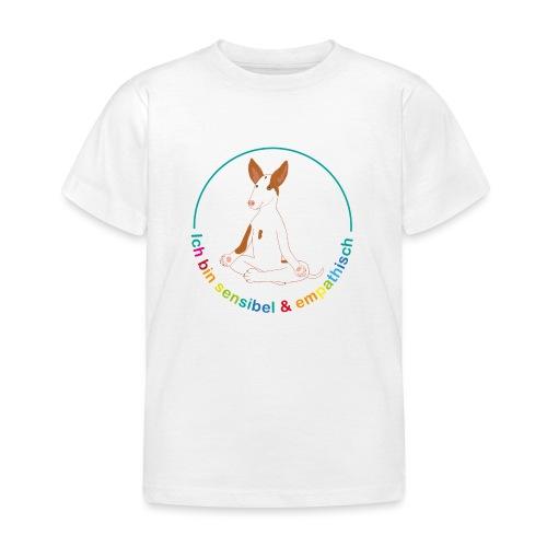 Ich bin sensibel & empathisch (Amigo bunt) - Kinder T-Shirt