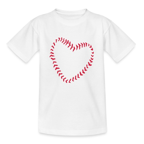 2581172 1029128891 Baseball Heart Of Seams - Kids' T-Shirt