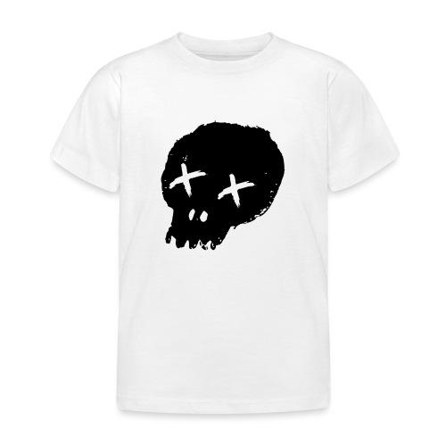 blackskulllogo png - Kids' T-Shirt