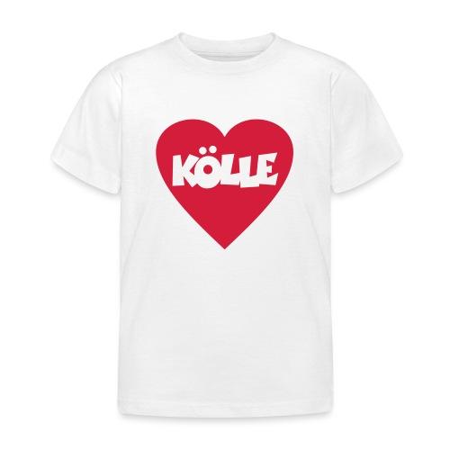 I Love Kölle - Ein Herz für Köln - Kinder T-Shirt