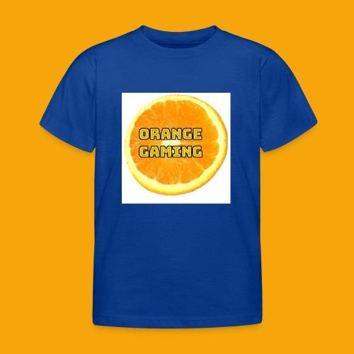 Orange_Logo_White - Kids' T-Shirt