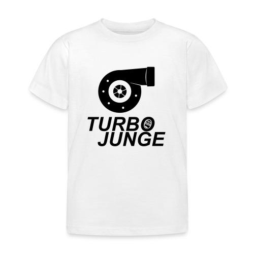 Turbojunge! - Kinder T-Shirt