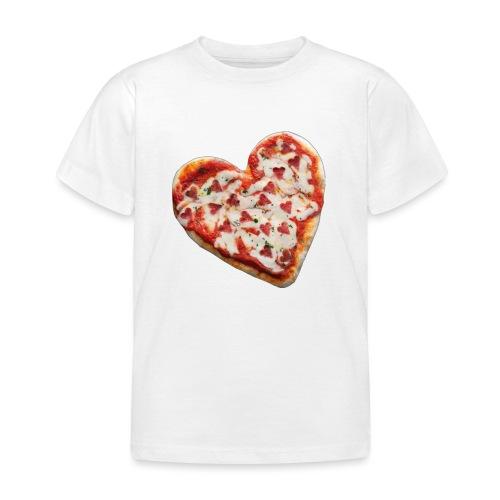 Pizza a cuore - Maglietta per bambini