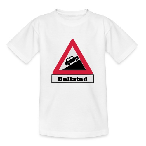 brattv ballstad a png - T-skjorte for barn