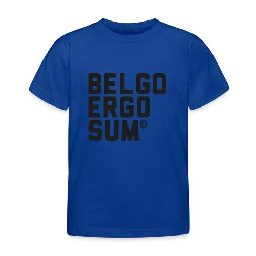 Belgo Ergo Sum - Kids' T-Shirt