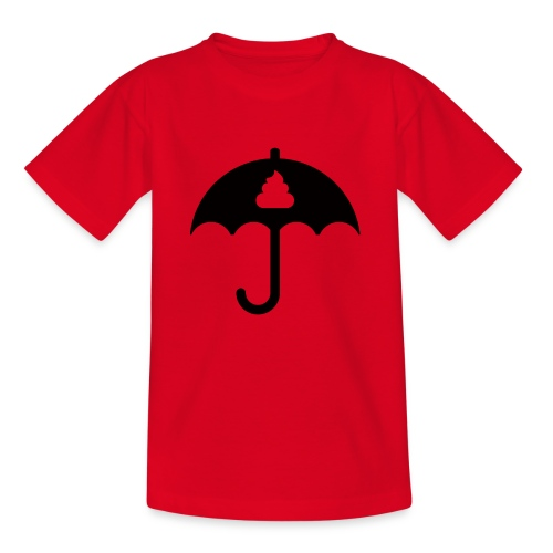 Shit icon Black png - Kids' T-Shirt