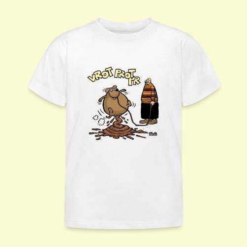 DIRKJAN Hondenpoep - Kinderen T-shirt