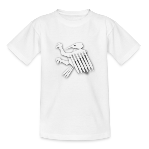 Nörthstat Group ™ White Alaeagle - Kids' T-Shirt