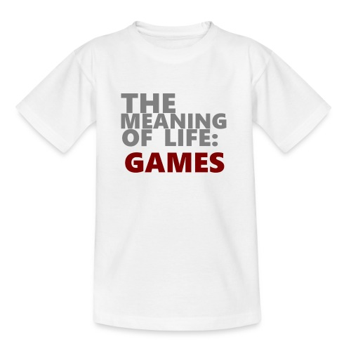 T-Shirt The Meaning of Life - Kinderen T-shirt