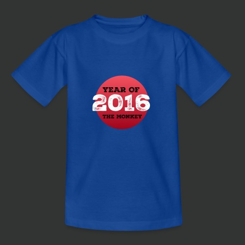 2016 year of the monkey - Kids' T-Shirt