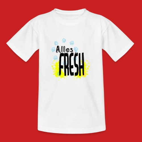 Alles Fresh / Frisch Sommer Eis - Kinder T-Shirt